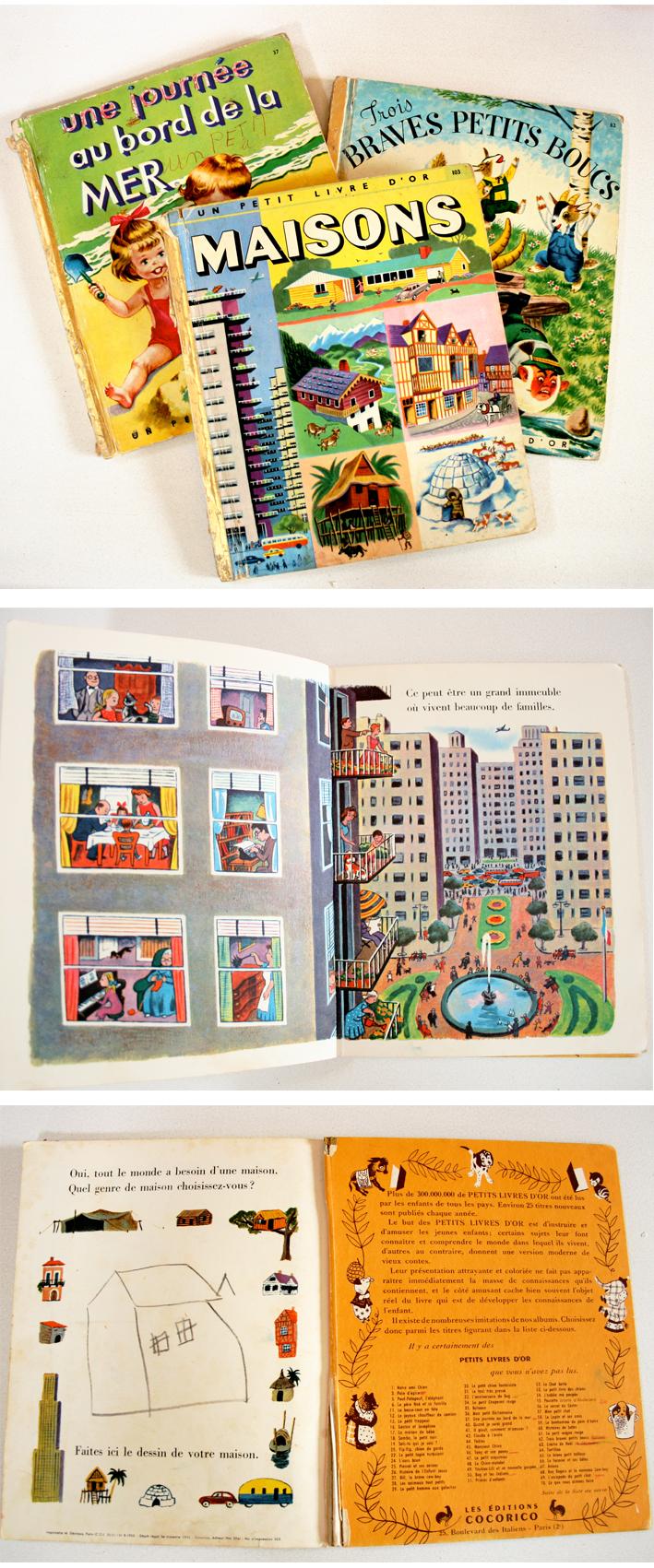 Maisons livres enfants