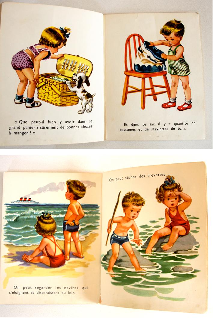 La mer livres enfants