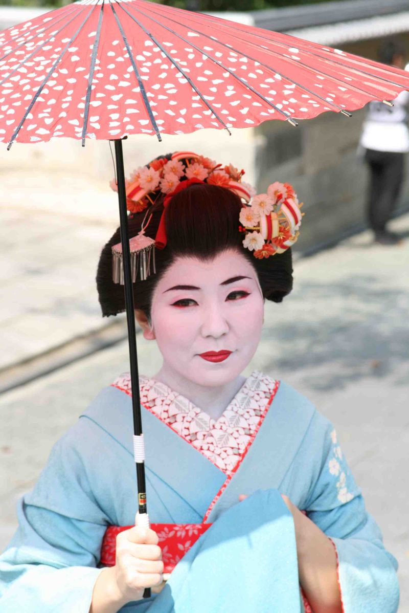 Geisha umbrella