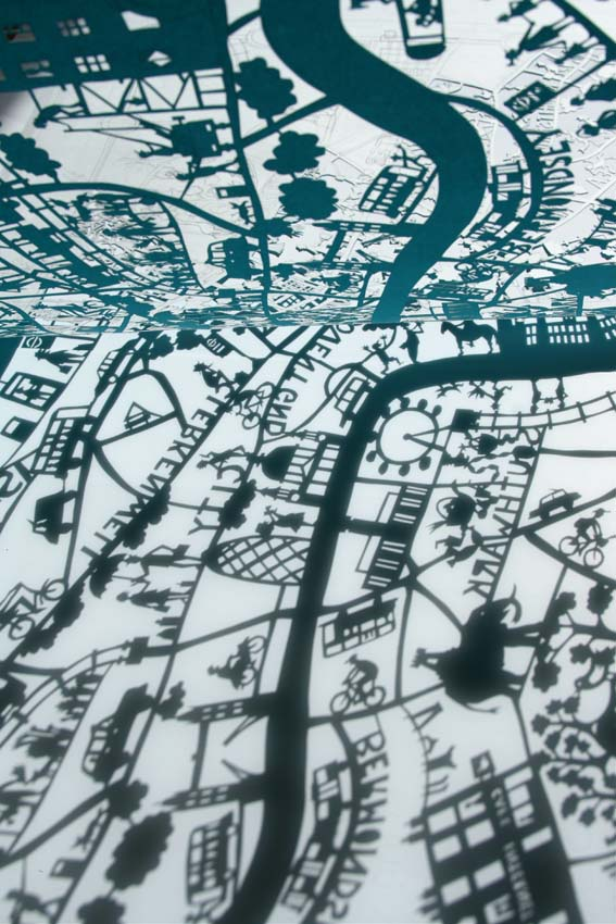 Shaddow London map