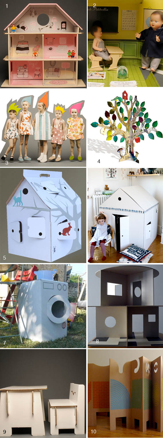 Carboard toys