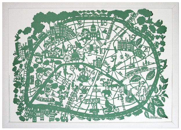 Paris Green Map sml