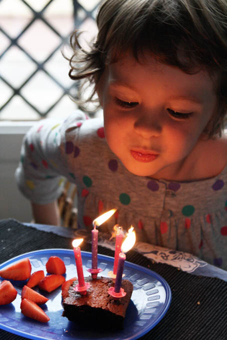 Ophelia 4 ans