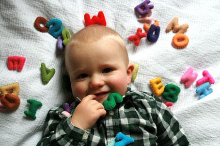 Lucien portrait 12 mois