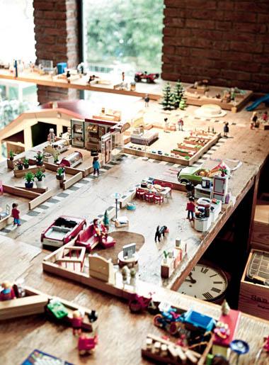 Playmobile town