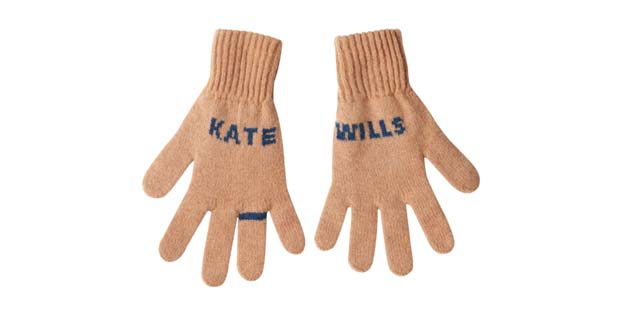 Kate will gloves