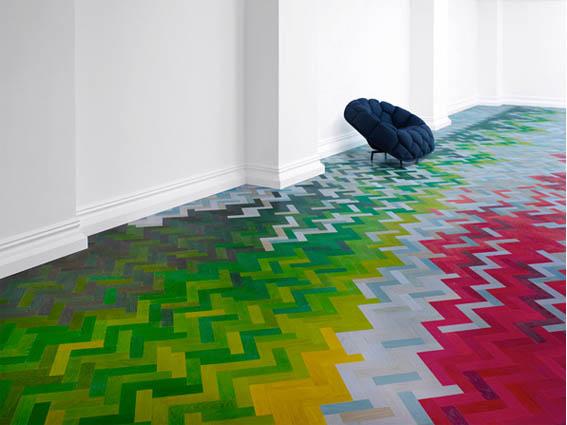 Wooden FloorRawEdge