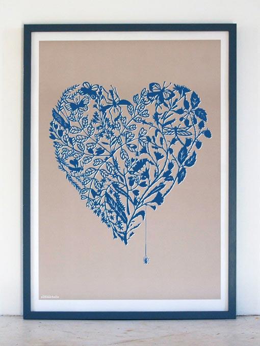 Blue Love Bugs