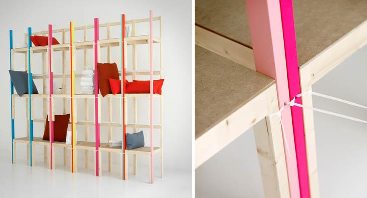 Chairshelf