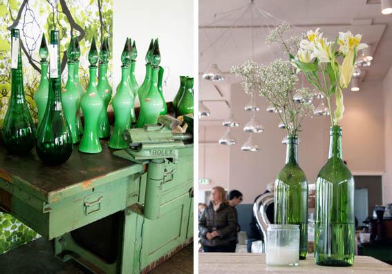 18 green bottles