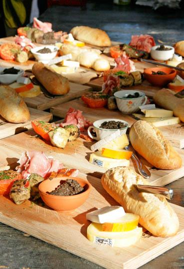 21 food platter