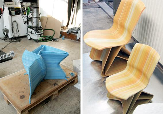 22 plastic chairx2