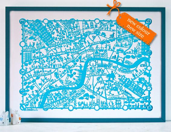 London turquoise blog