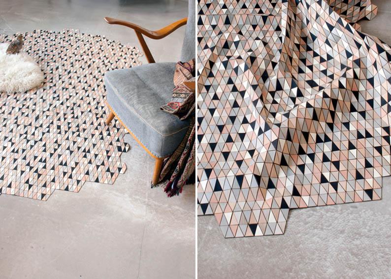 Wooden rug1