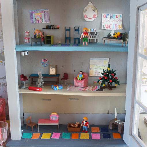 Homemade Dollhouse Famille Summerbelle