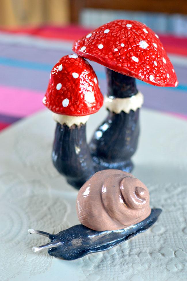 Mushrooms&Snail