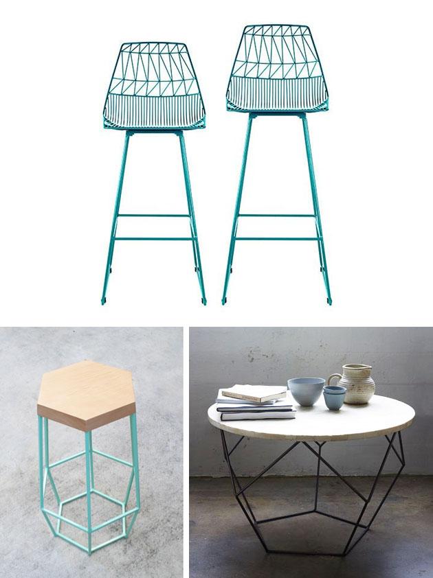 wire furniture. Bendgoods Wire Furniture