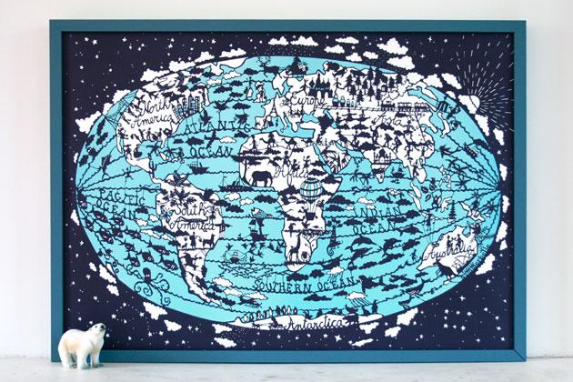 WorldMapPrintFamilleSummerbelle