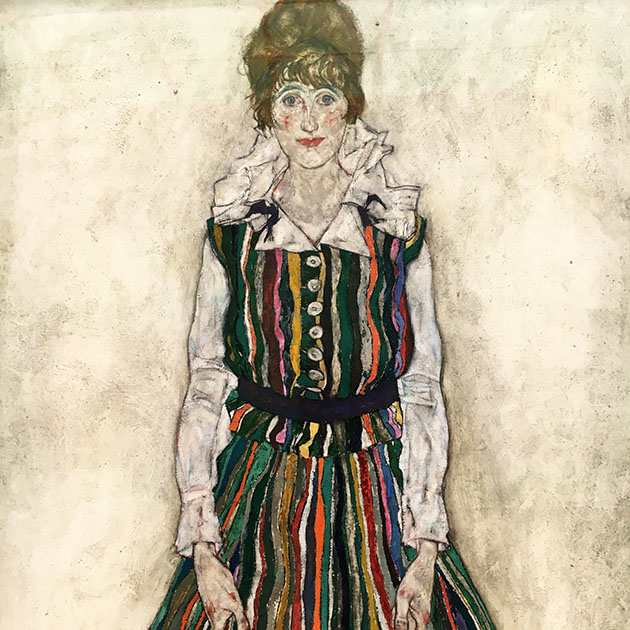 Portrait of Edith Egon Schiele