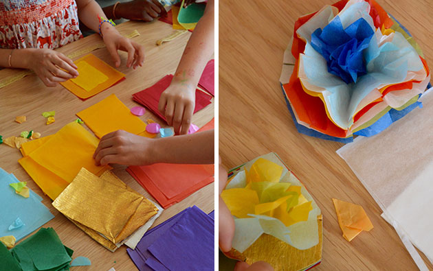 Making-paper-flowers