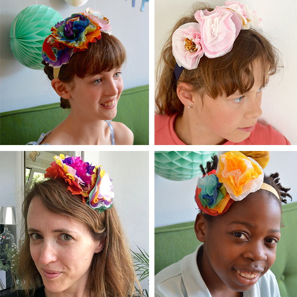 Paper-flower-headbands