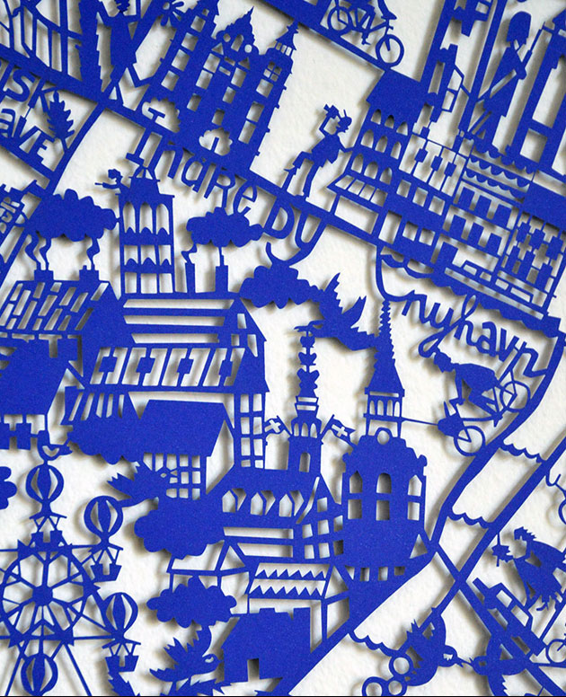 Copenhagen-paper-cut-Blue-Closeup
