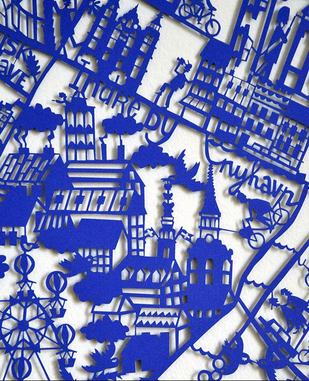 Copenhagen-paper-cut-Blue-Closeup