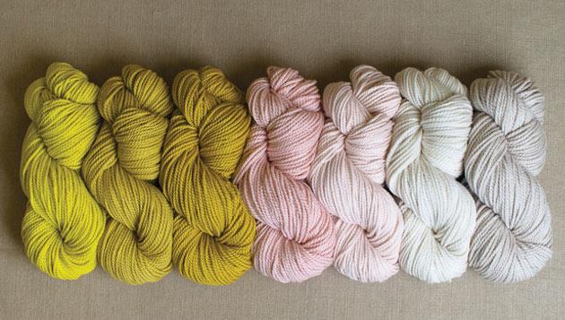 Pink-Yellow-Grey-yarn