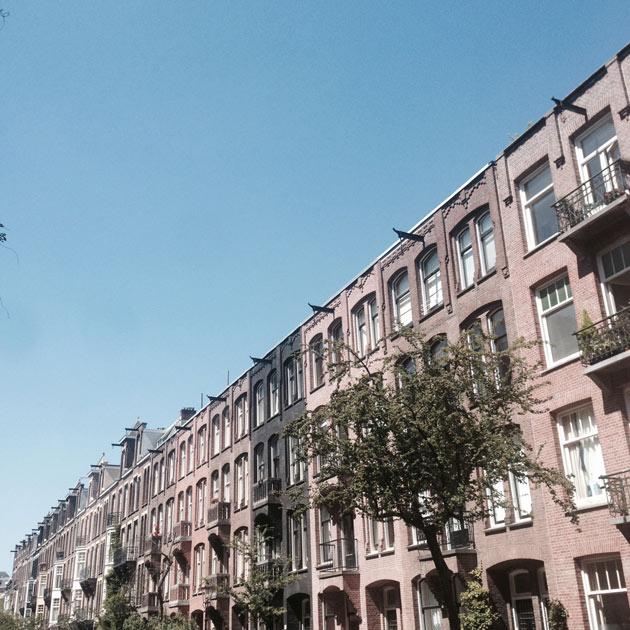 Amsterdam-hot-day