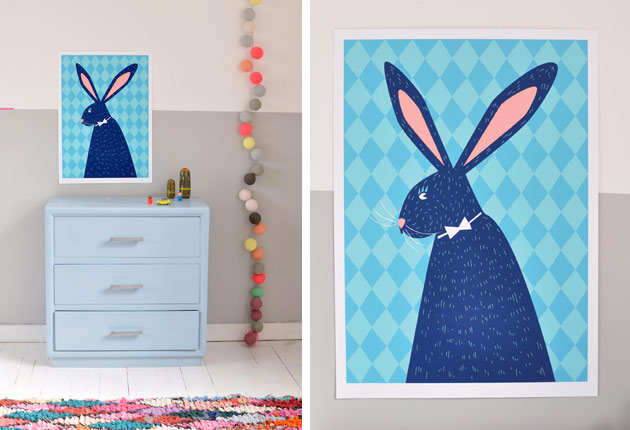 Bunny-Screen-Print