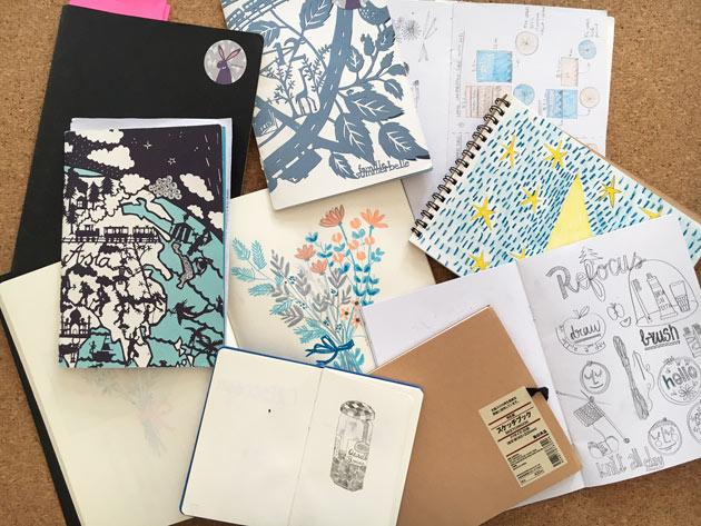 Notebooks-Julie
