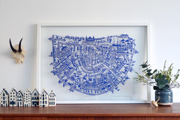 Amsterdam-blue-papercut-insitu