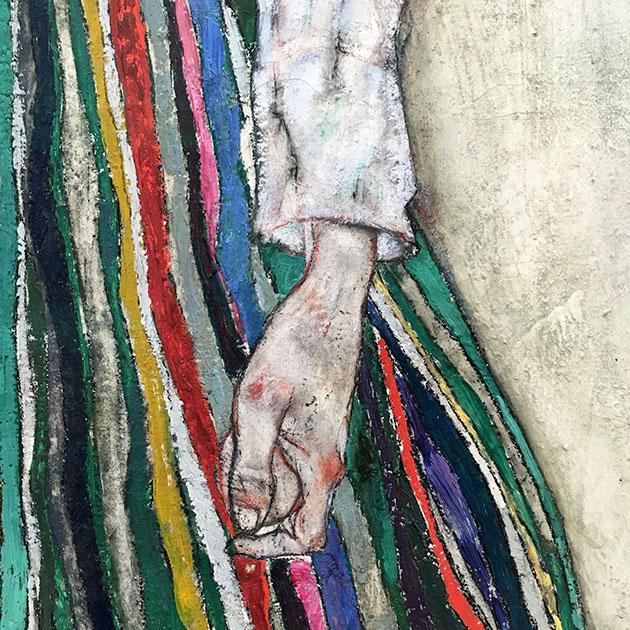 Detail Hand Egon Schiele