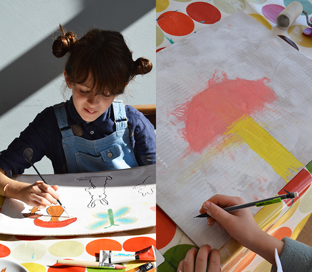 Painting-with-children