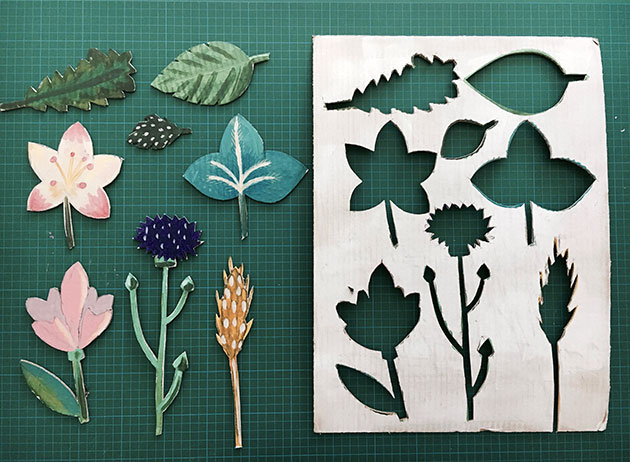 6 Cutting-shapes