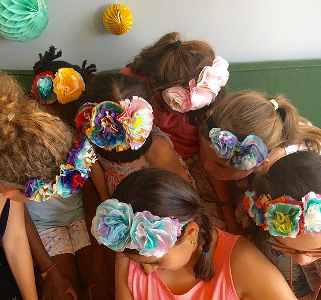 Flower-handbands