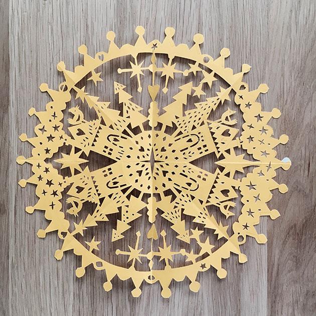 Winter-paper-cut-original-by-Julie-Marabelle