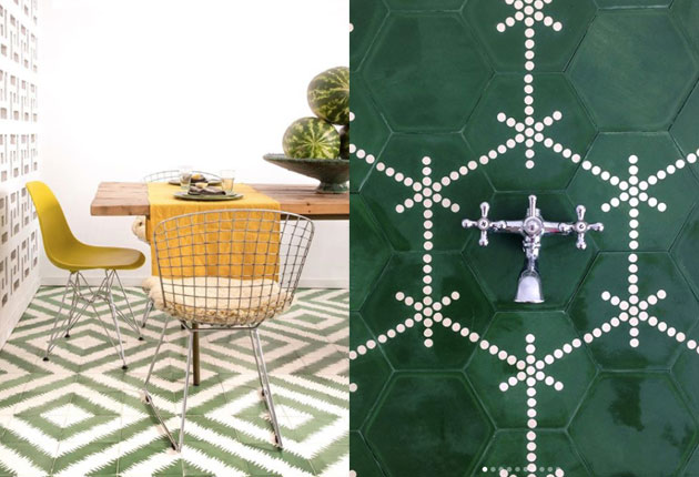 ZigZag and Do You tiles by Popham Design