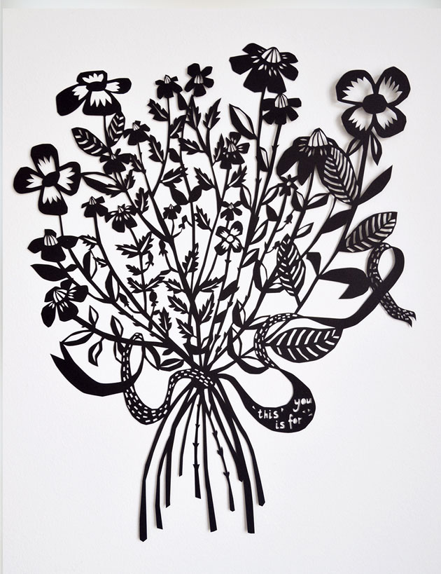 Bouquet-paper-cut-by-Famille-Summerbelle-1