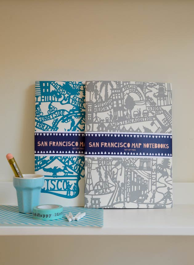 San Francisco Notebooks by Famille Summerbelle