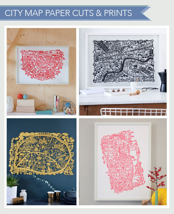 City-map-paper-cuts-&-prints
