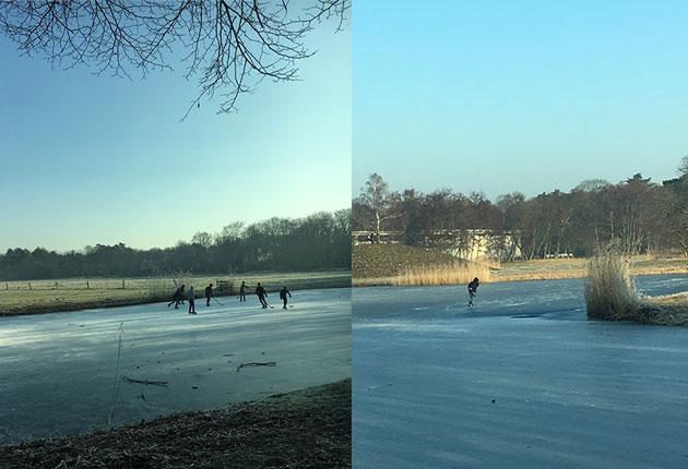 Voorlinden-Garden-Ice-Skating