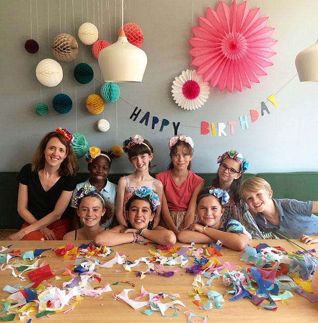 Birthday-Party-Paper-Flower-Handbands