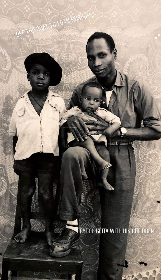 Seidou-Keita-with-his-children