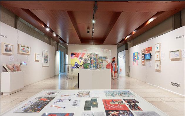 World-Illustration-Awards-Somerset-House-2018- exhibition1-Credit Josh Redman