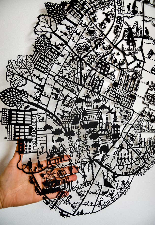 Copenhagen-Paper-cut-map-Shortlisted-for-WIA-2018-by-Famille-Summerbelle