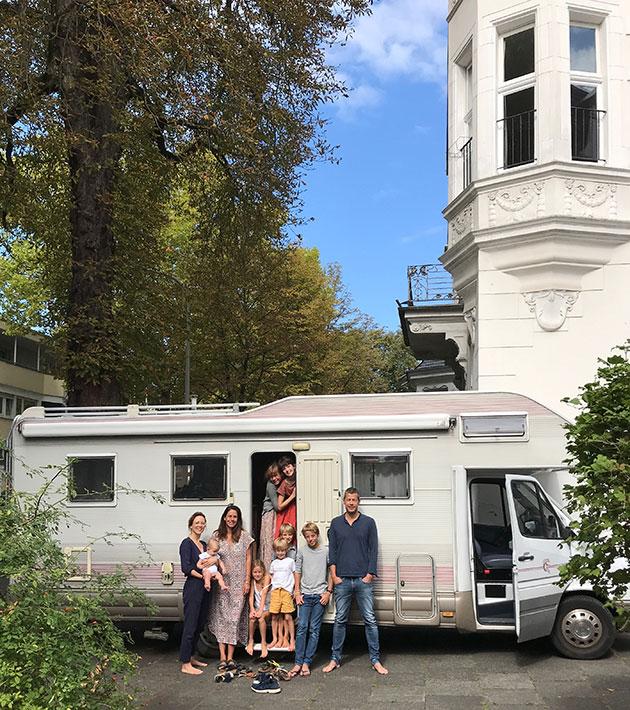 Van-de-Paal-Family-&-their-camper-van