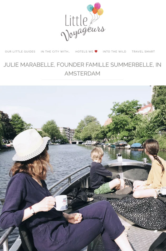 Famille-Summerbelle-Interview-with-My-Little-Voyageurs