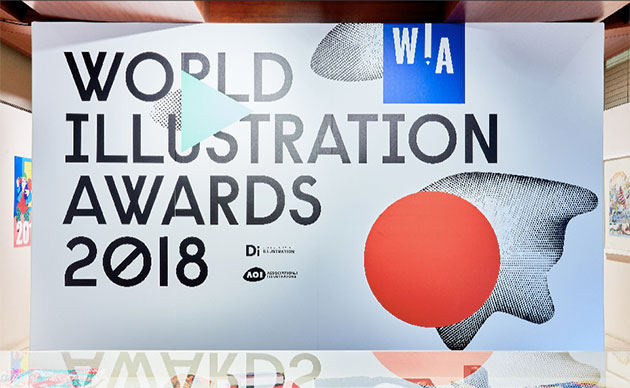 World-Illustration-Awards-Somerset-House-2018-entry. Credit Josh Redman