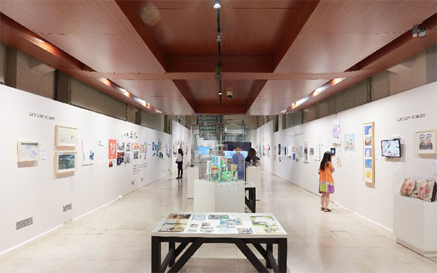 World-Illustration-Awards-Somerset-House-2018-exhibition2 Credit Josh Redman
